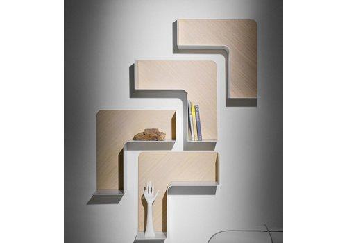 B-Line Fishbone moduleerbaar boekenrek