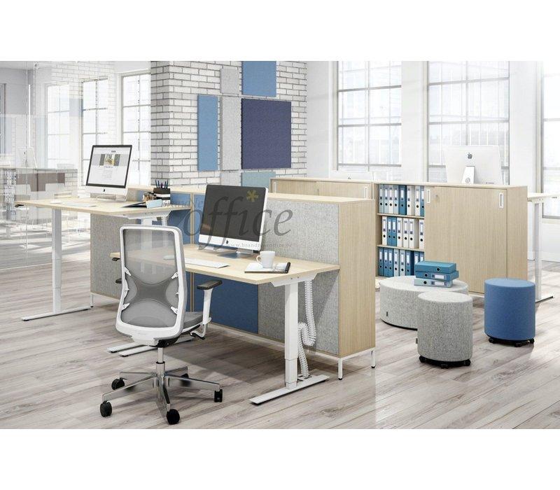 Easy bureau assis/debout électrique