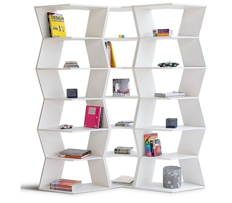 Zig Zag modulaire boekenkast