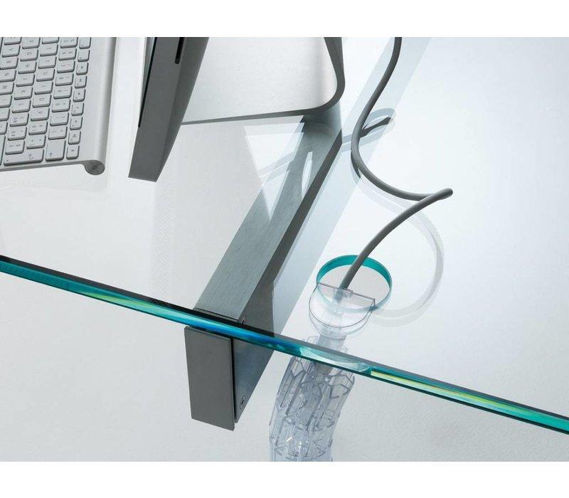 Air Desk Hall toonbank in glas