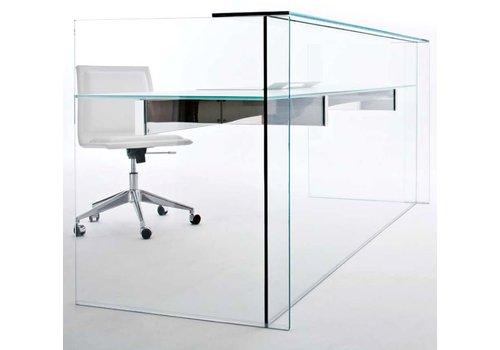 Gallotti & Radice Air Desk Hall toonbank in glas