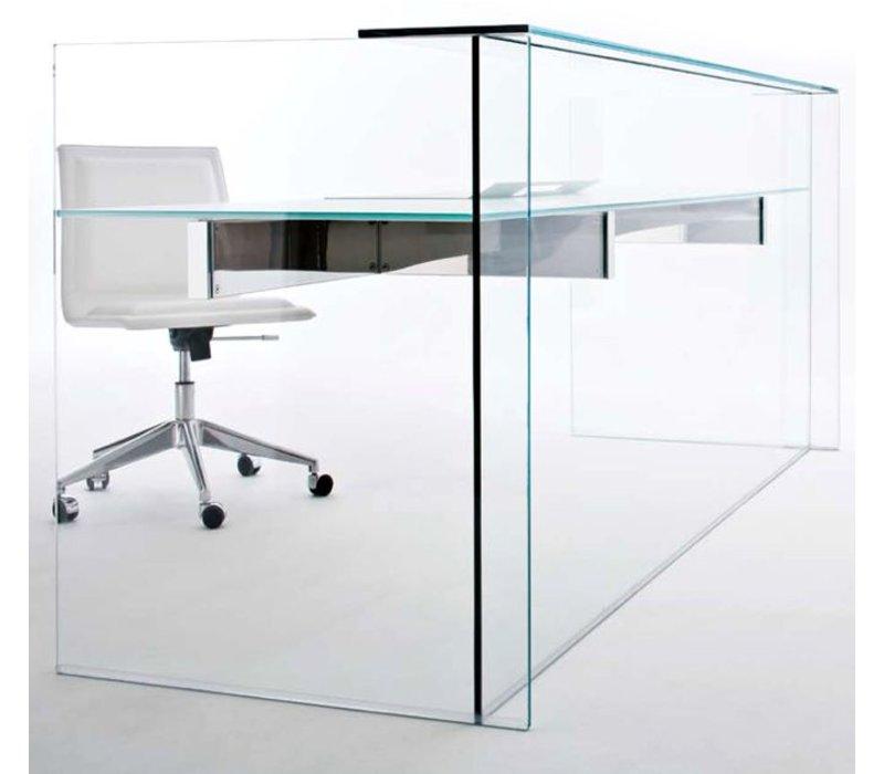 Air Desk Hall banque d'accueil en verre