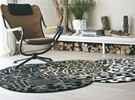 Tapis rond Fossil