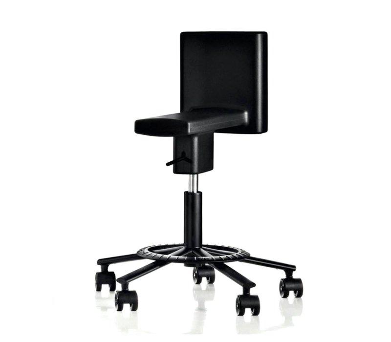 360° Swivel bureaustoel met wielen