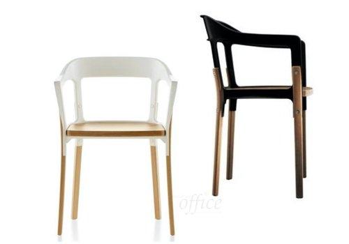 Magis Steelwood stoel in beukenhout