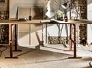 Brut Table design réglable