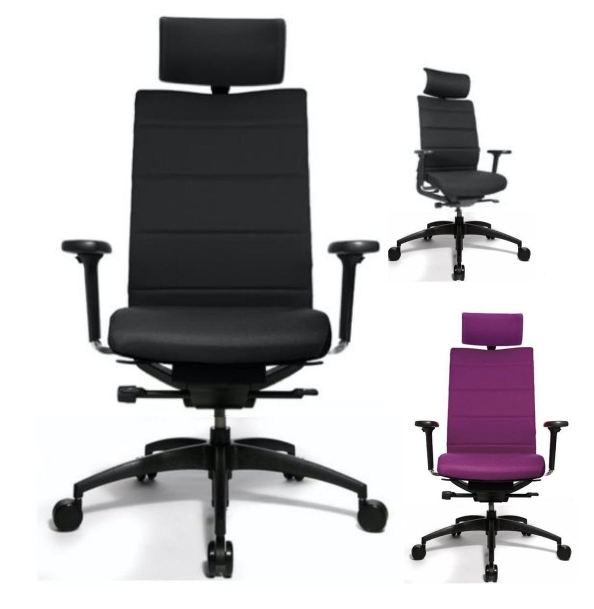 Bureaustoel Met Neksteun.Ergomedic 100 4 Bureaustoel Met Hoofdsteun Brand New Office