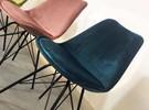 Velvet designstoel