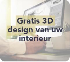 Gratis 3D design van uw interieur
