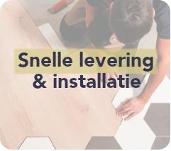 Snelle levering & installatie