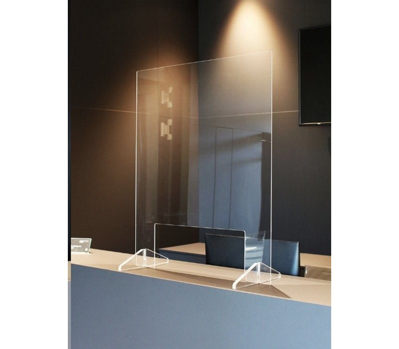 Ecran de protection en verre acrylique type S