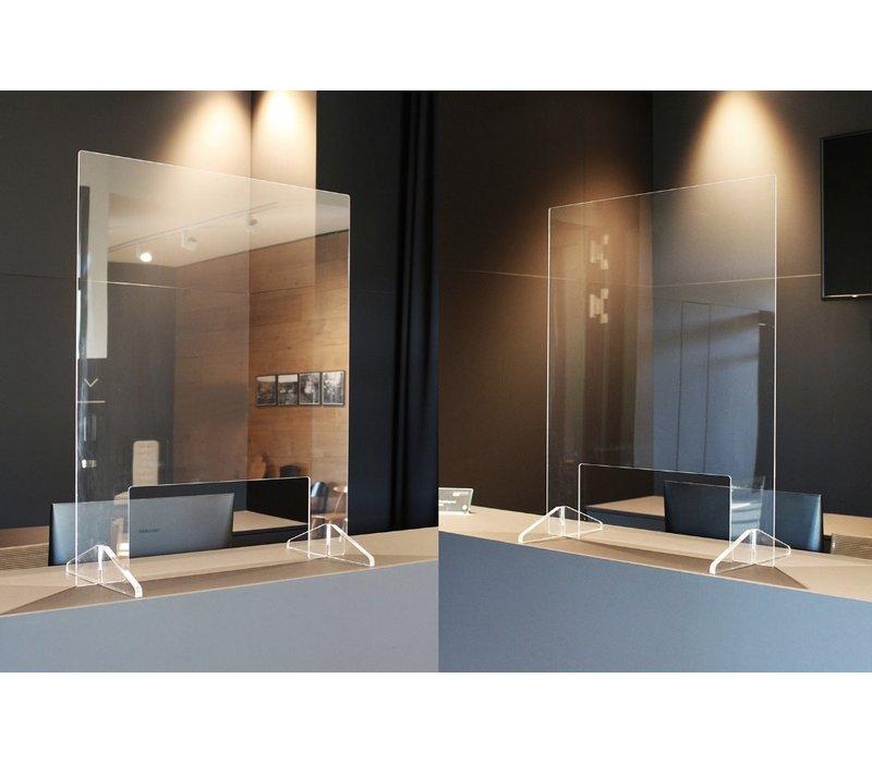 Beschermingsscherm/scheidingswand Type S uit acrylglas