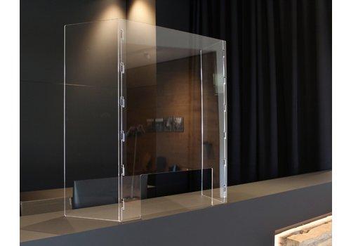 BNO Bescherming Scheidingswand Type M uit acrylglas