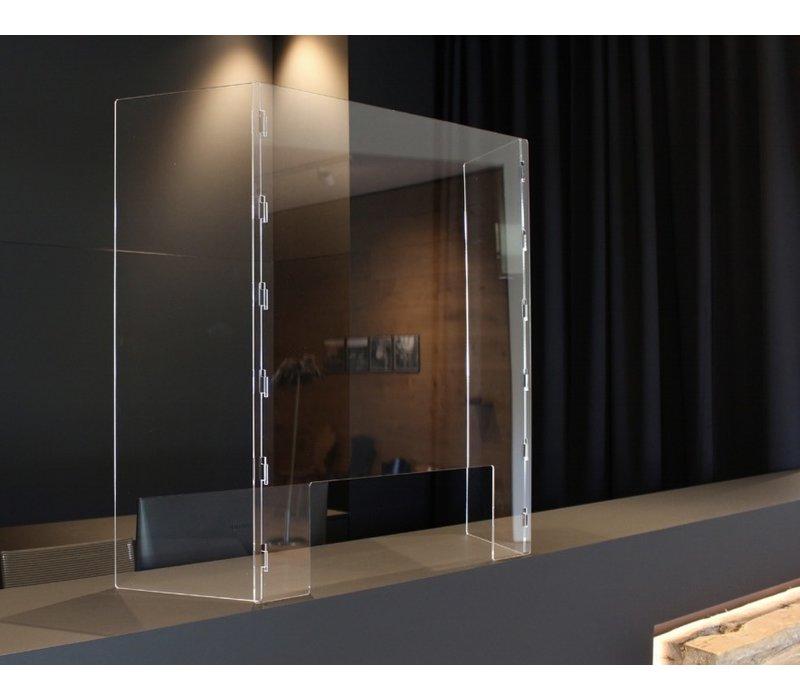 Bescherming Scheidingswand Type M uit acrylglas