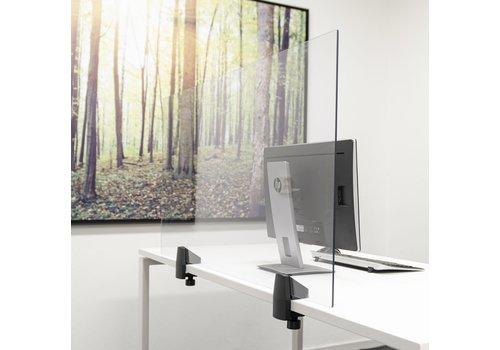 Smit Visual Écrans de séparation en verre plexi avec pince