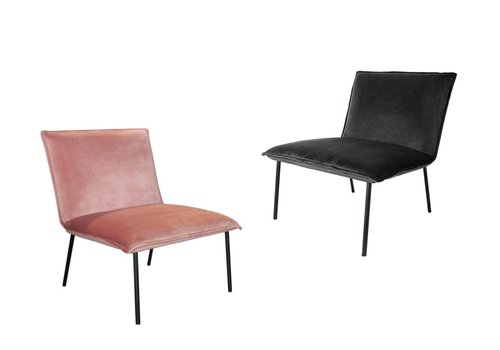 Kick collection Lola Velvet fauteuil
