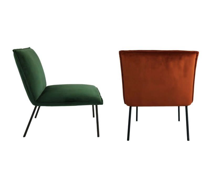 Lola Velvet fauteuil