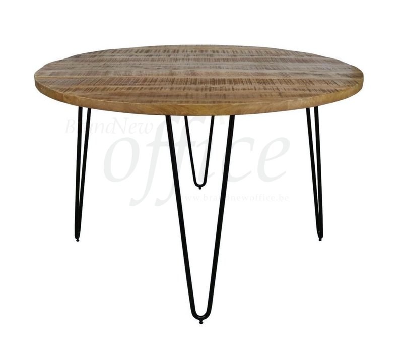 Triangle table industrielle ronde