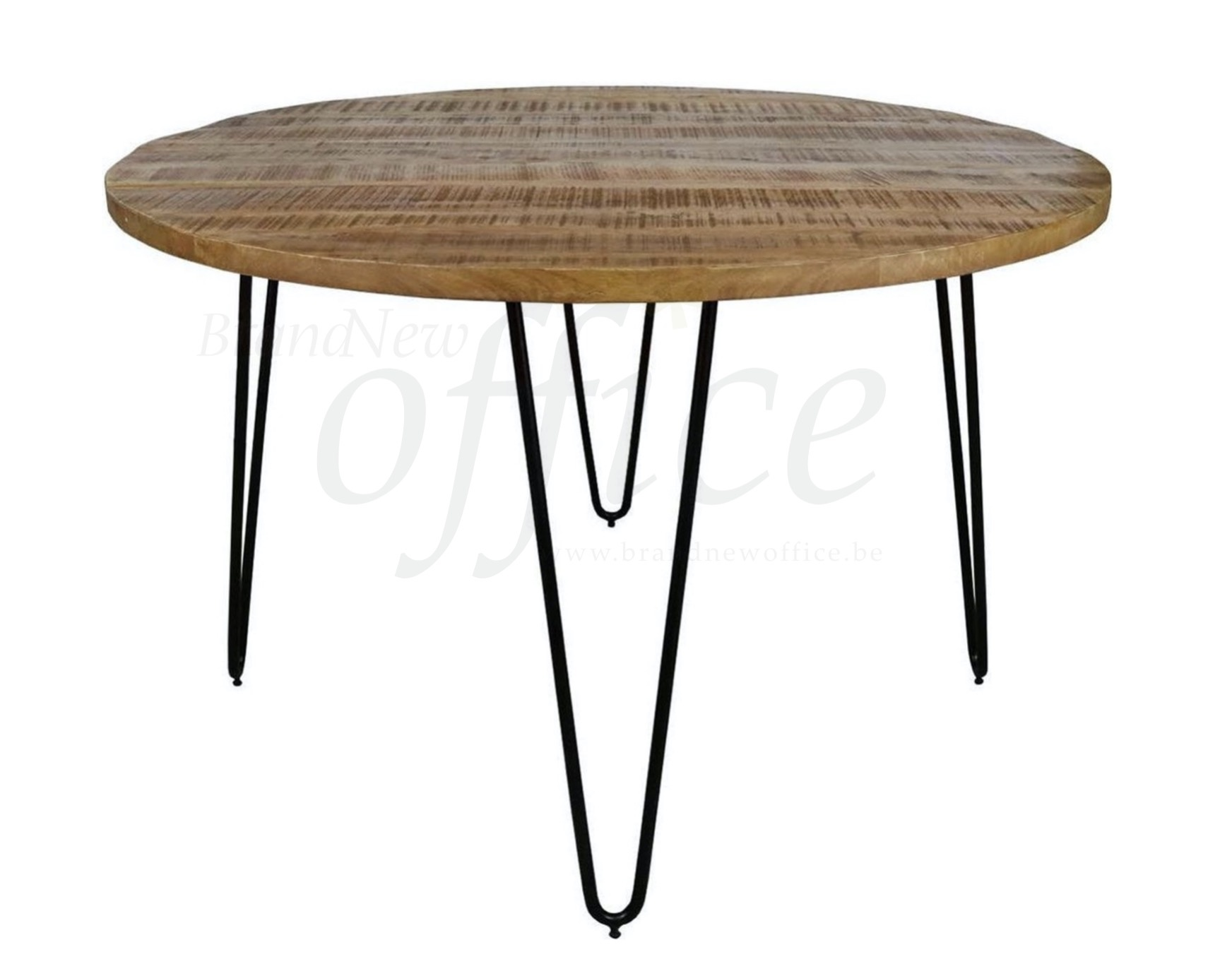 Kick Triangle table industrielle ronde