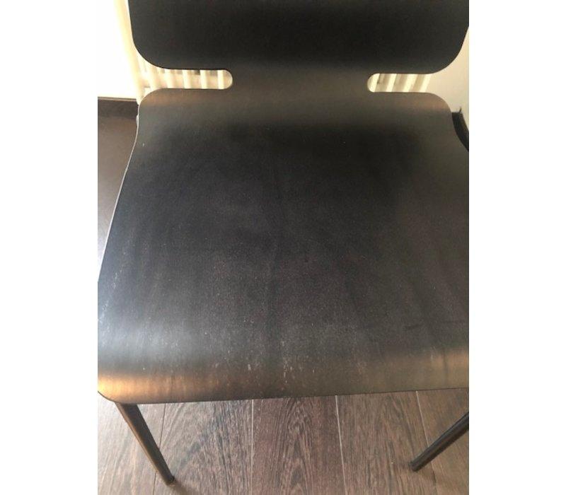 Noa houten stoel zwart - showroommodel