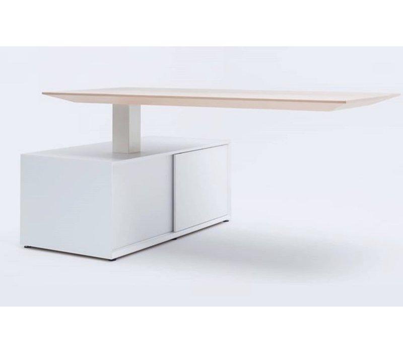 Gravity design bureau elektrisch verstelbaar