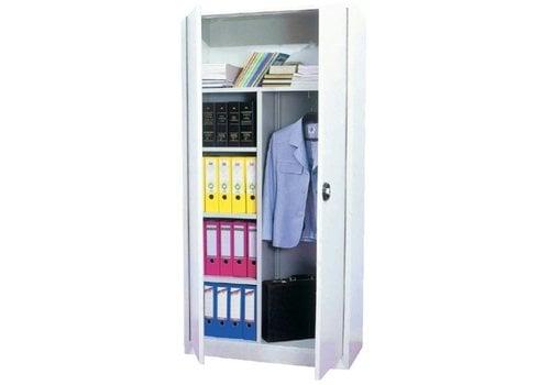 BNO Metalen klapdeurkast garderobe-klassement