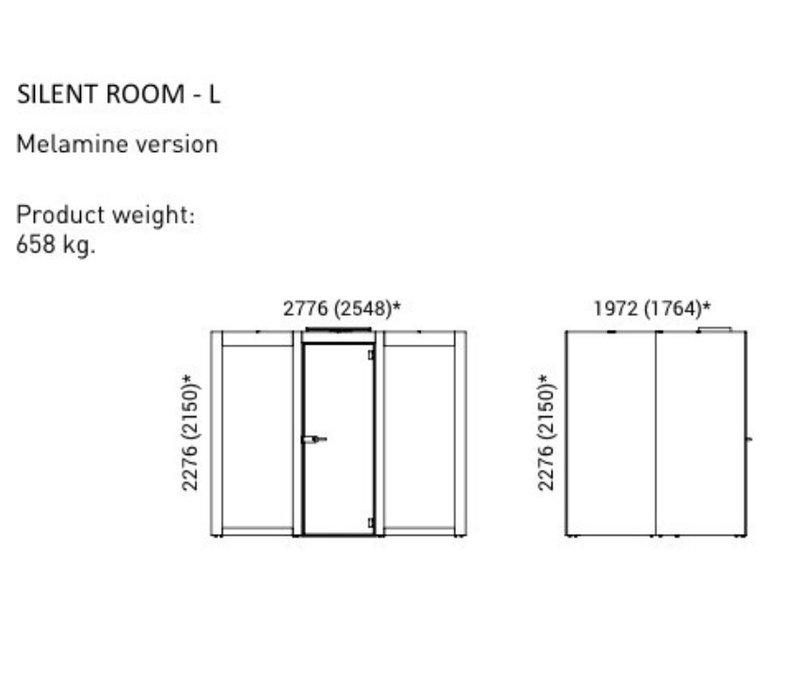 Silent room akoestische POD's Large