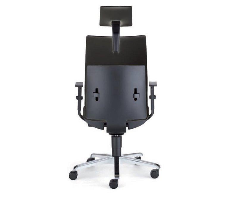 Director 1860 fauteuil de bureau cuir noir