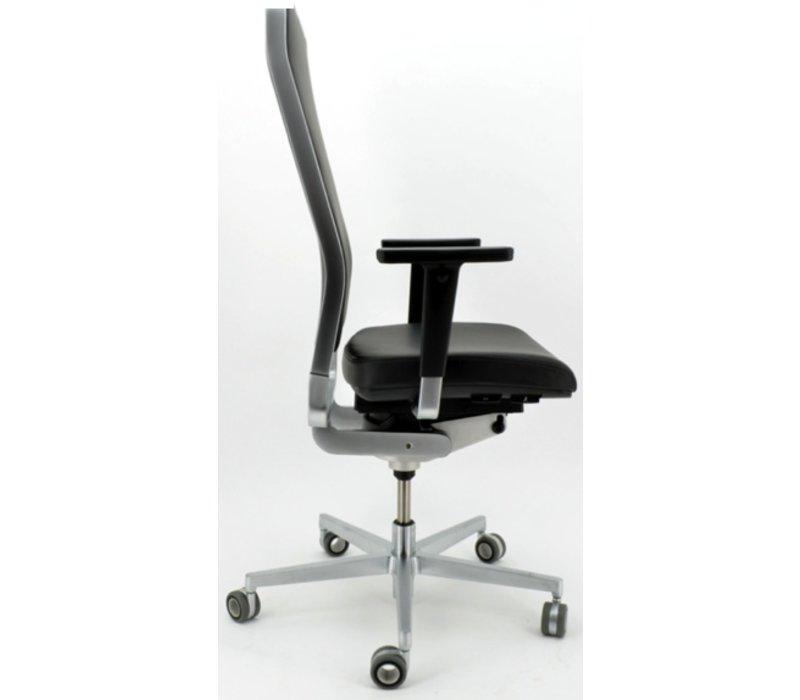 W-1 High bureaustoel in premium leder