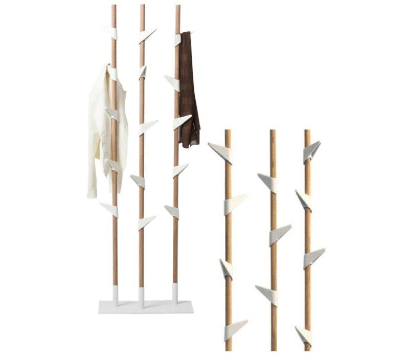Bamboo 3 staande kapstok