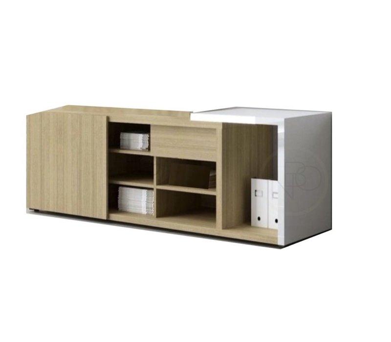 Mito dressoir met aanbouw HPL