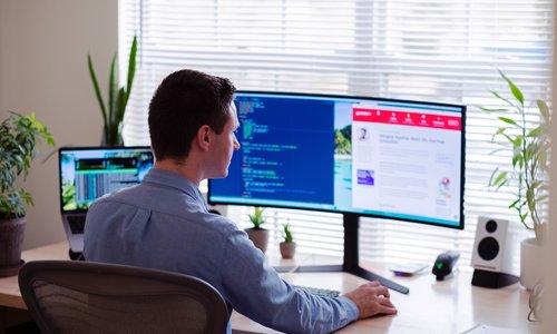 Hoe zorg ik voor ergonomie in mijn home office?