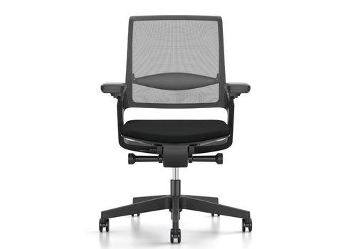 Interstuhl Movy chaise de bureau noir NPR 1813