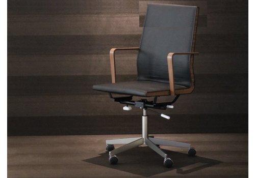 VVD Chair directiestoel leder