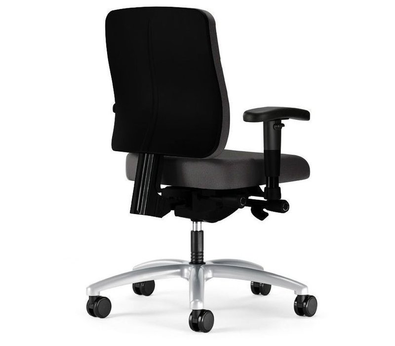 Yourope PRO Bureaustoel lage rug