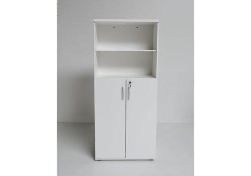 Mdd Basic archiefkast met deuren en open vak