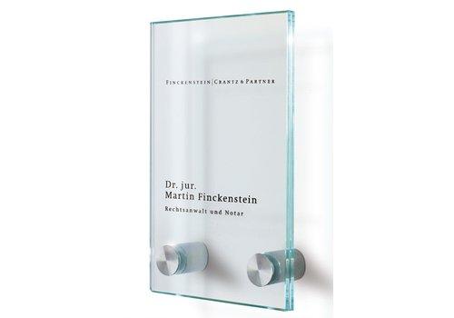 Sign Systems Cristallo plaques de porte - 16h x 10l x 2,8p cm