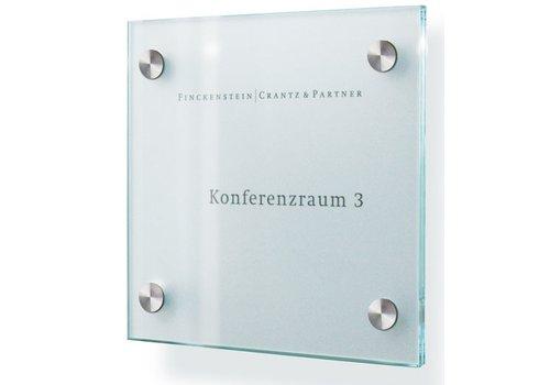 Sign Systems Cristallo plaques de porte - 15h x 15l x 2,8p cm
