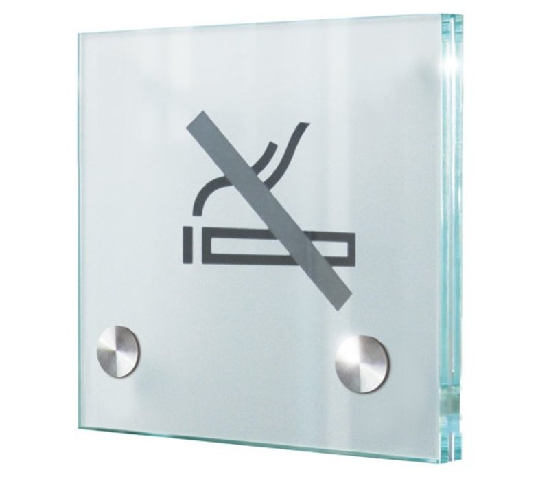Cristallo deurbordje - 15h x 15b x 2,8d cm