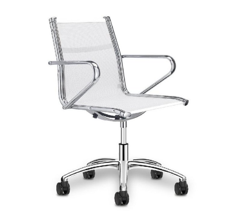 Ice Manager bureaustoel in netbespanning