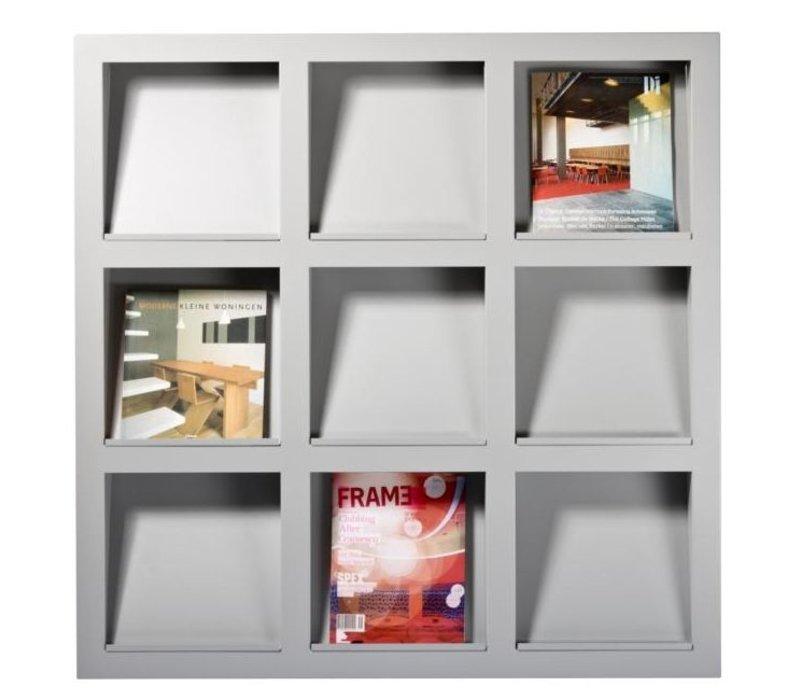 Frame wandgemonteerde display