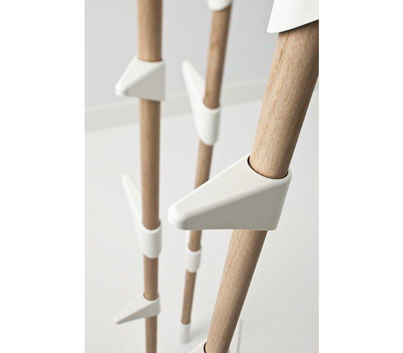 Bamboo wall 180 wandkapstok