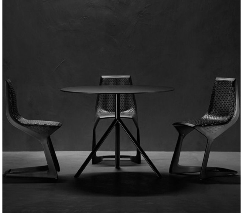 Miura table rond -opklapbaar