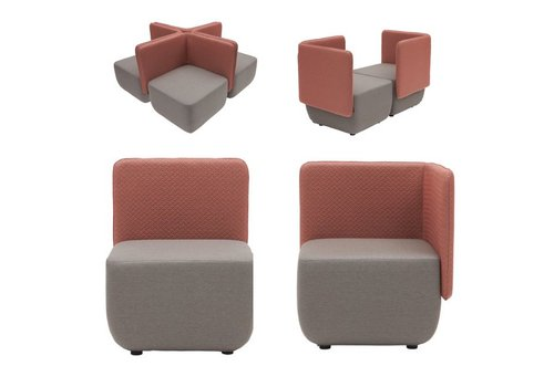 Softline Opera chair modulaire zetel