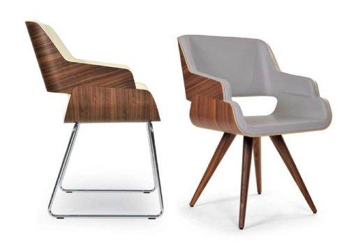 Riccardo Rivoli Rose chaise luge et chaise de visiteur