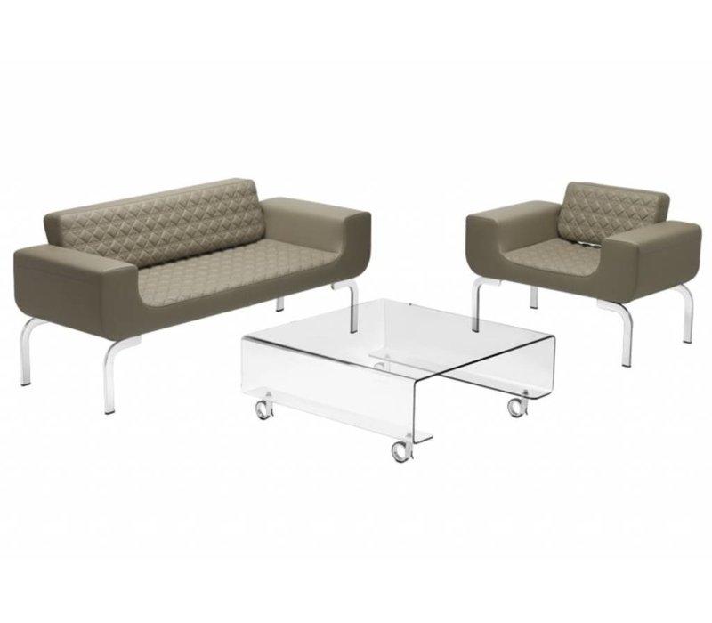 Lounge Diamond sofa - 3 plaatsen