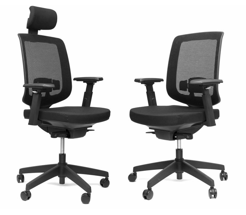 Ergo 05 bureaustoel met hoofdsteun