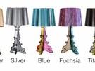 Bourgie lamp Metaalkleuren