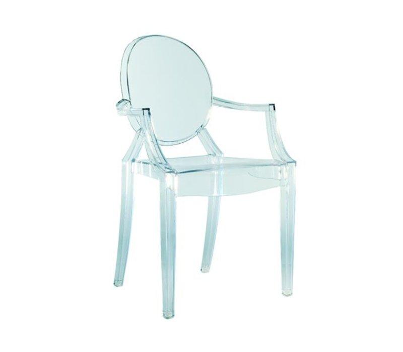 Louis Ghost stoel transparant 4 stuks