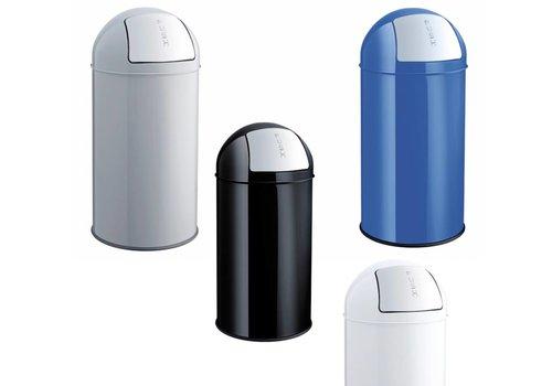Helit Push Bin poubelle à clapet 30L
